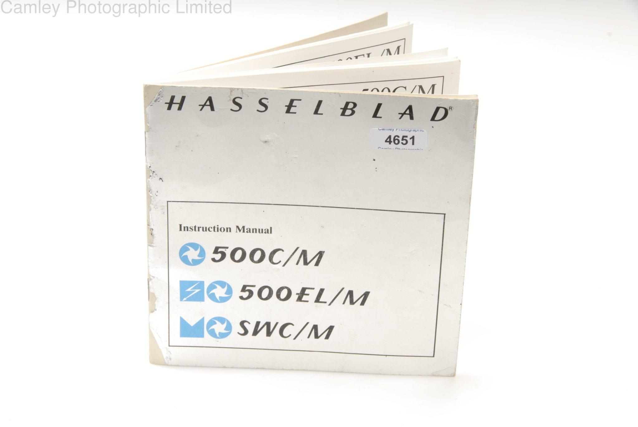 Hasselblad 500c repair manual