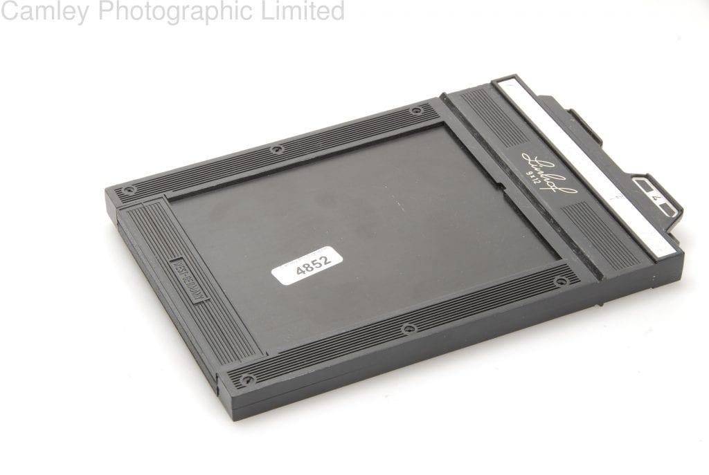 Linhof 9x12 9 X 12cm Cut Film Holder Dd Condition 4e