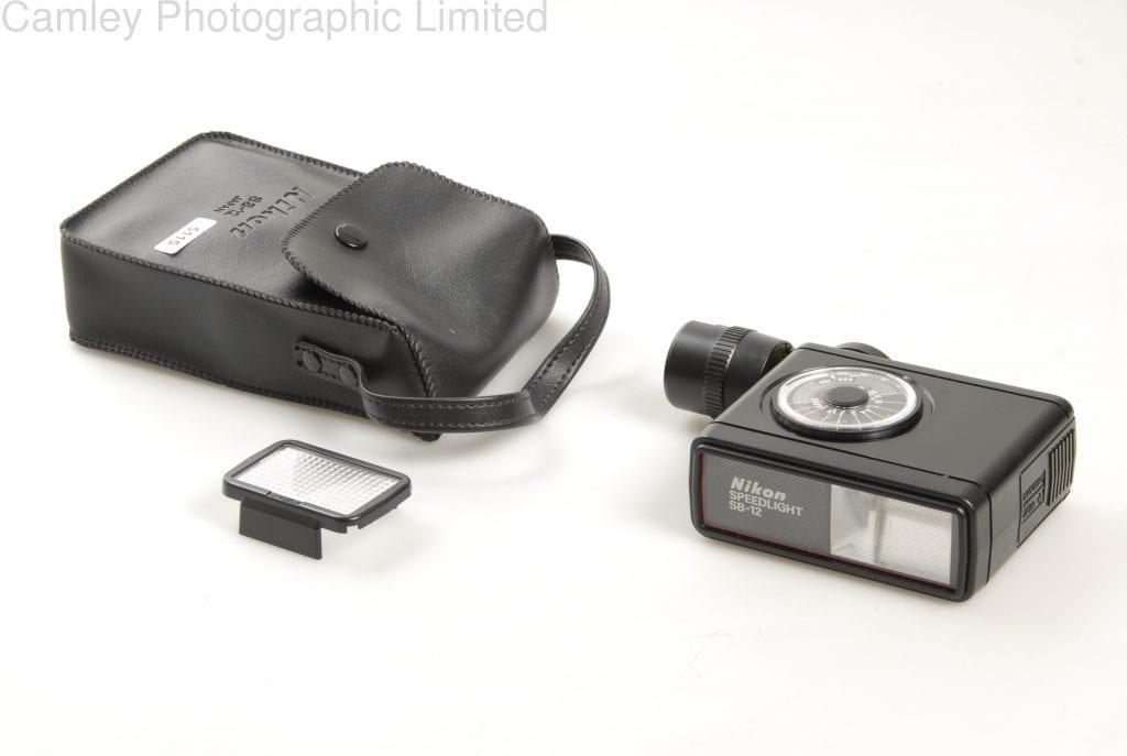 Nikon Speedlight Sb 12 For F3 Condition 4e 5115