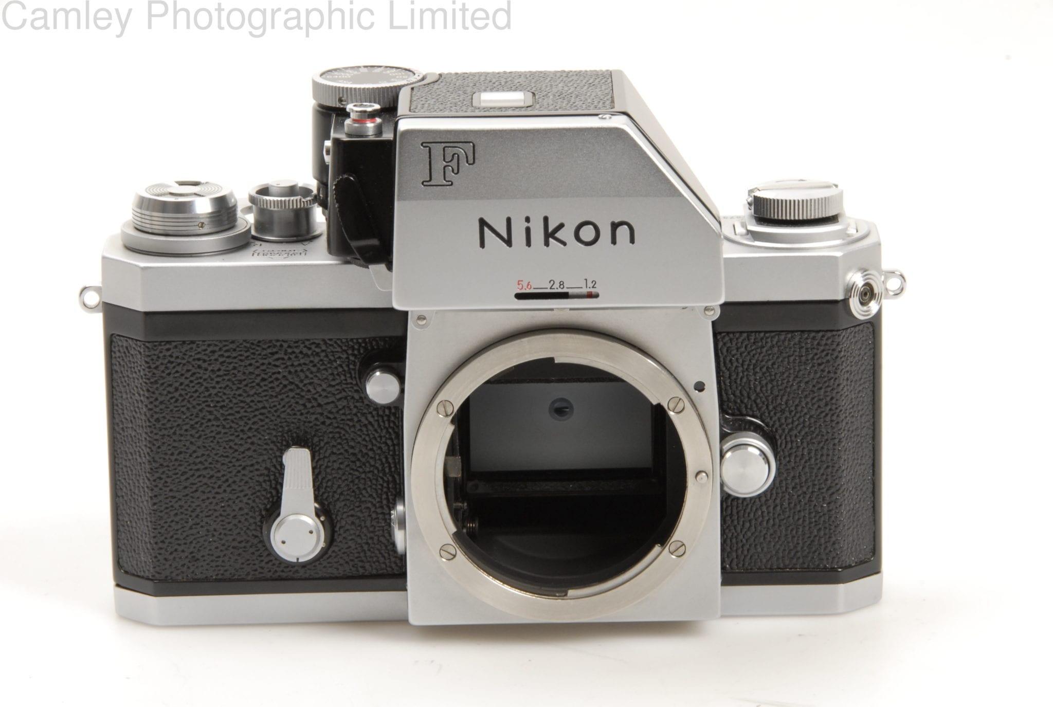 F Photomic FTn Apollo 35mm film SLR Black Professional Camera body ...