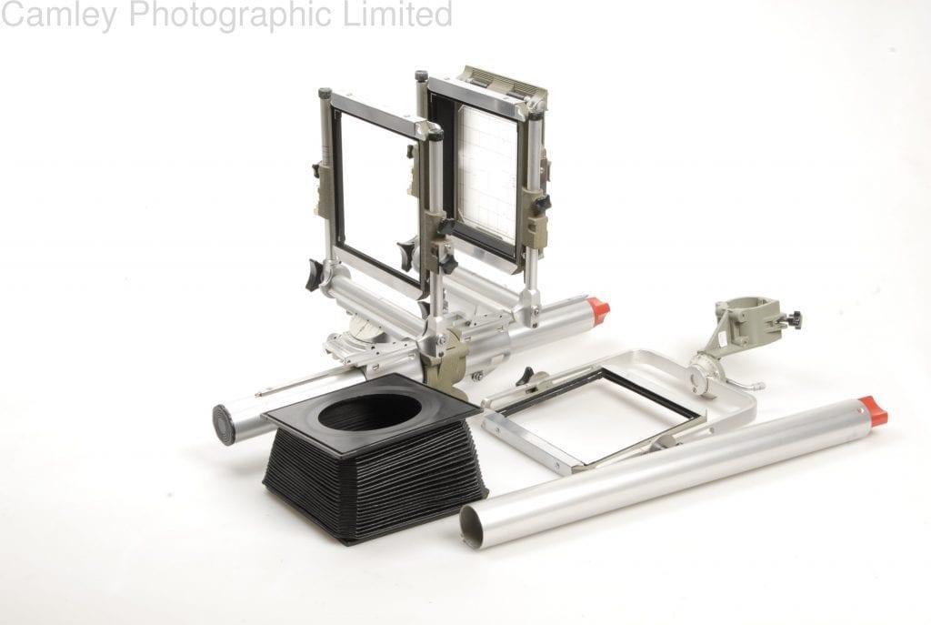 Sinar Norma 4x5 Monorail Camera And Case Condition 4e