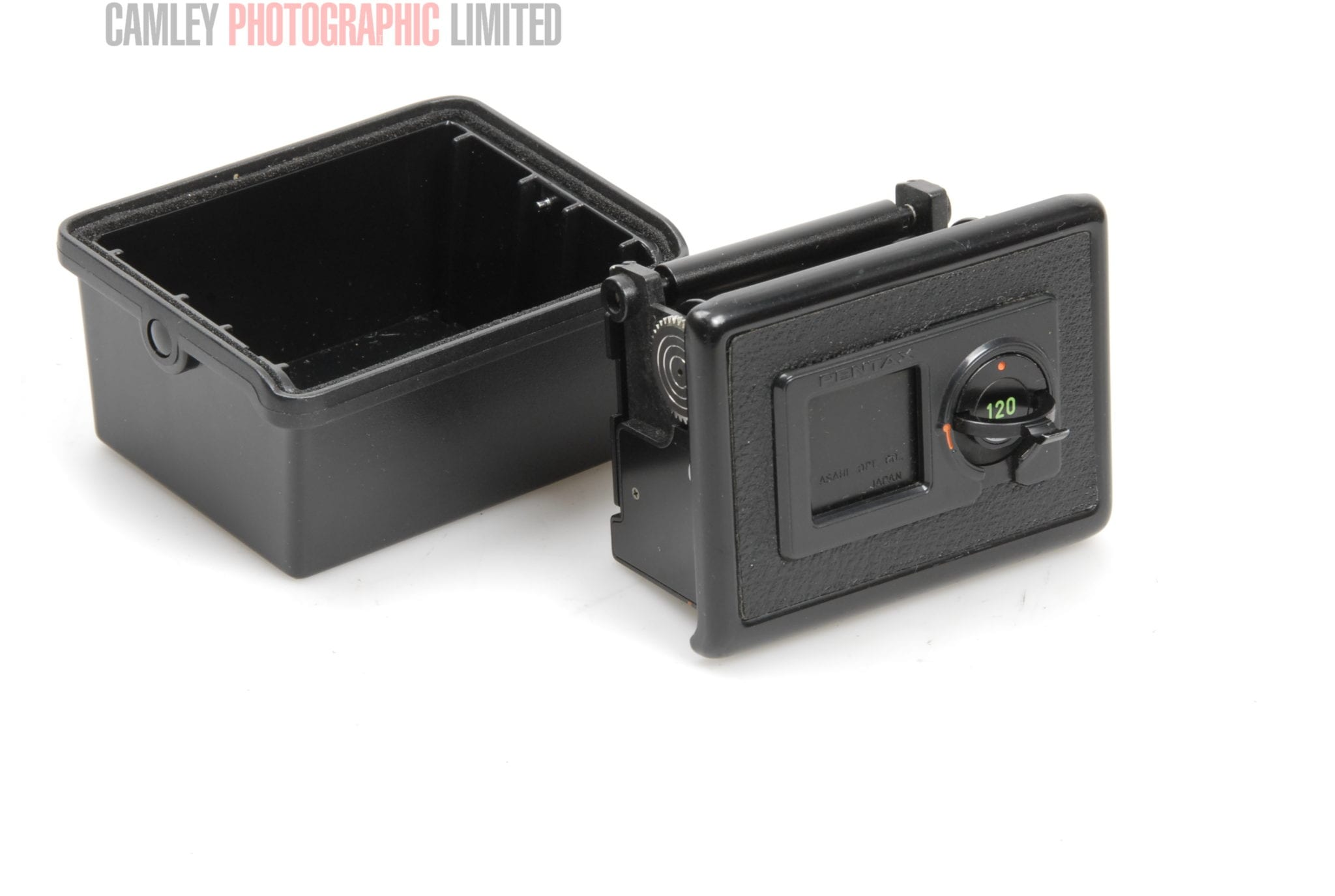 Pentax 645 battery holder - Pentax 645 645n 120 Film Insert Holder 38801 Condition 4e 6531