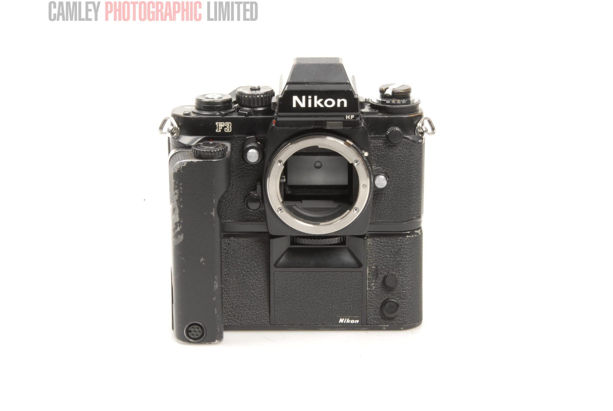 Nikon F3HP 35mm SLR Camera Body Just serviced Condition – 4E [6448]