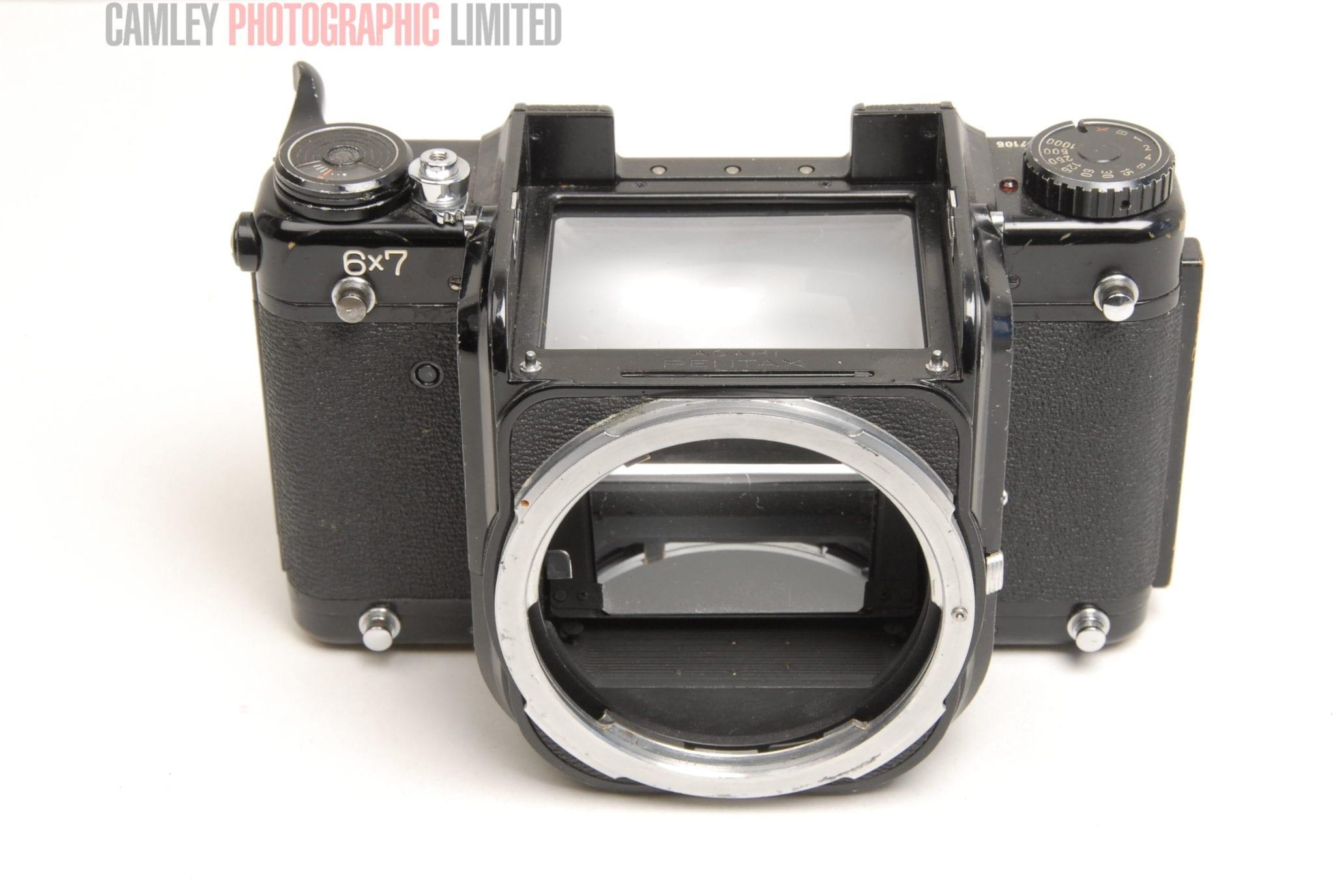 Pentax 6x7 Camera Body  Spares or repair  Condition - 6J [6300]